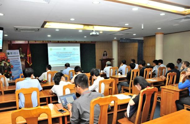 TS Hà Thanh Tùng, Trung tâm Khảo nghiệm, Kiểm nghiệm, Kiểm định nuôi trồng thủy sản trình bày về các quy định của nhà nước đối với tiêu chuẩn về thức ăn thủy sản